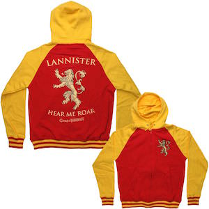 Game of Thrones Lannister Sigil Hoodie