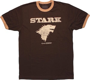 Game of Thrones Stark Wolf T-Shirt