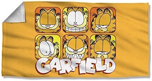 Garfield Beach Towel for sale
