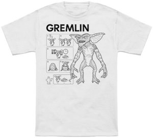 How To Make A Gremlin t-shirt