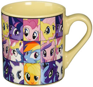 My Little Pony Head Collage Mug