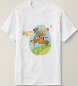 Scooby-Doo Fun Easter t-shirt for the whole family