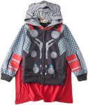 Kids Thor hoodie with cape