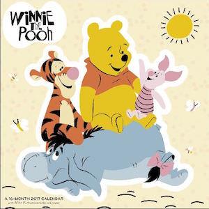 Disney 2017 Winnie the Pooh Wall Calendar
