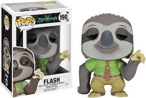 Zootopia Flash Figurine