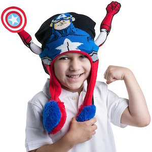 Captain America Flipeez Hat