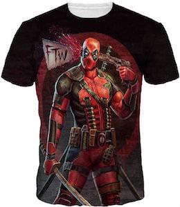Deadpool Suicide T-Shirt