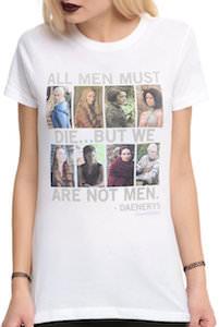 Game of Thrones All Men Must Die women's T-Shirt