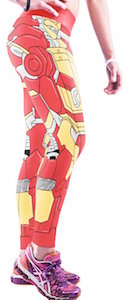 Iron Man Costume Leggings