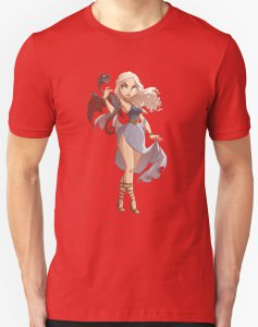 Mother Of Dragons Anime T-Shirt