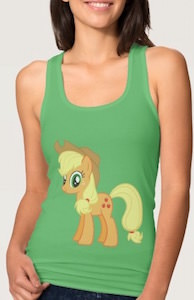 Women's My Little Pony Applejack Tank Top