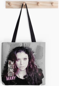 Orphan Black I'm Not One But Many Tote Bag