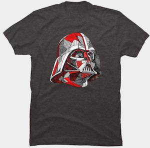 Star Wars Abstract Darth Vader T-Shirt
