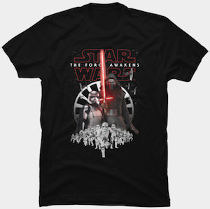Star Wars The First Order Awakened T-Shirt