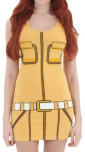 TMNT April O'Neil Tunic Tank Dress
