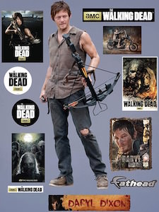 The Walking Dead Daryl Dixon Wall Decal