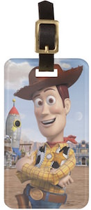 Toy Story Woody Luggage Tag