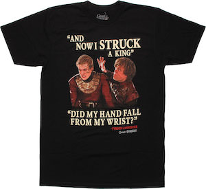 Game of Thrones Tyrion And King Joffrey T-Shirt