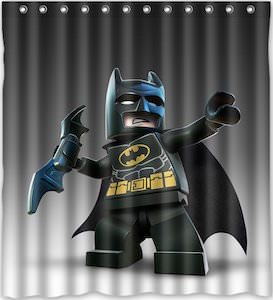 LEGO Batman Shower Curtain