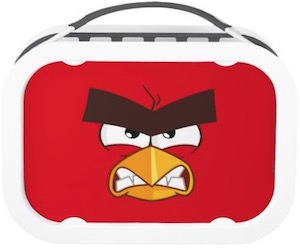 Angry Birds Red Lunch Box