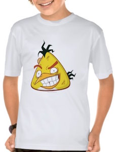 Angry Birds Hyper Chuck T-Shirt