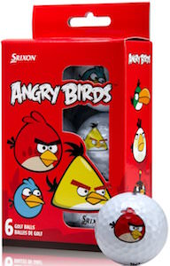 Angry Birds Golf Balls