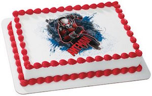 Ant-Man Edible Cake Topper Image