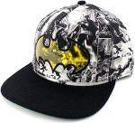 Batman Comic Snapback Hat With Logo