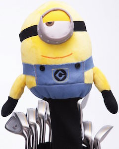 Minion Stuart Golf Club Head Cover