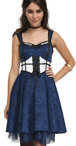 Doctor Who Gears And Tardis Dress