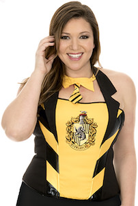 Harry Potter Hufflepuff Corset Top