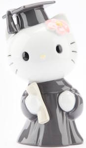 Hello Kitty Porcelain Graduation Figurine