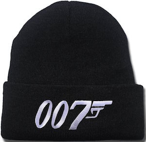 James Bond 007 Beanie Hat