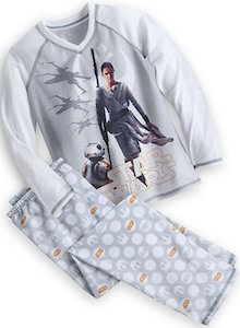Star Wars Rey And BB-8 Kids Pajama Set