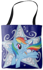 My Little Pony Rainbow Dash Star Tote Bag