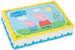 Peppa Pig Edible Cake Topper Image