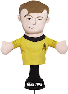 Star Trek Captain Kirk Golf Club Head Cover
