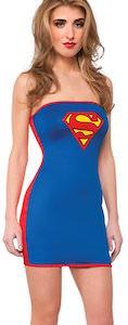 Superman / Supergirl Tube Dress