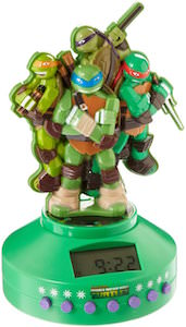 Teenage Mutant Ninja Turtles Bluetooth Alarm Clock