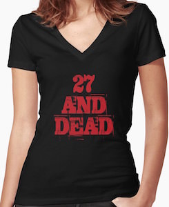 iZombie 27 And Dead T-Shirt