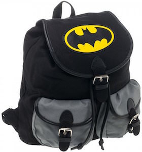 Batman Knapsack Logo Backpack