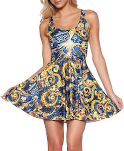 Doctor Who Exploding Tardis Skater Dress