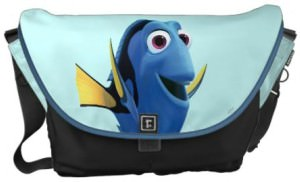 Dory Image Messenger Bag