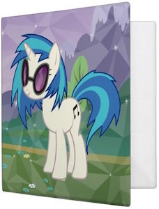 My Little Pony DJ Pon-3 Binder