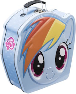Rainbow Dash Shaped Tin Lunch Box