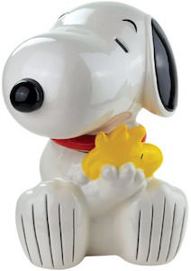 Snoopy And Woodstock Cookie Jar