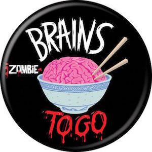 iZombie Brains To Go Button