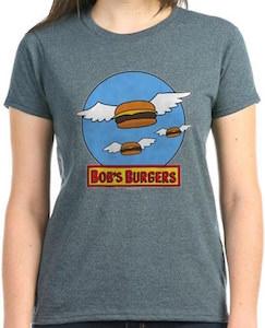 Bob's Burgers Flying Burgers T-Shirt