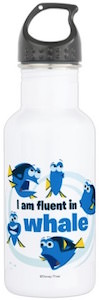 Finding Dory I Am Fluent In Whale Water Bottle