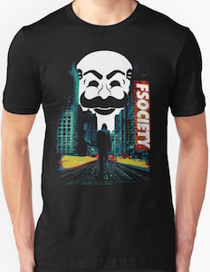 Mr. Robot Fsociety And The City T-Shirt